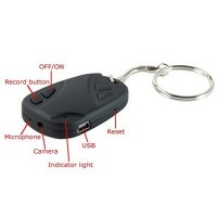 Car Key Chain Hidden Camera Video Recorder